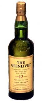 Glenlivet Single Malt - 12 year old 750ml