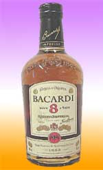 Bacardi 8 Rum (USA) 750ml