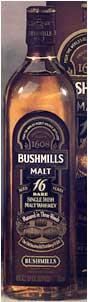 Bushmills Three Wood Single Malt 16 yr old, Irish Whiskey  (Ireland) 750ml