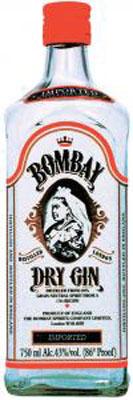 Bombay, Gin (England) 750ml
