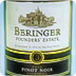 "Beringer Pinot Noir ""Founders Estate"" California, 2005  750ml"