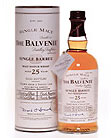 Balvenie 25 yr old, Single Malt Scotch Whisky (Scotland) 750ml