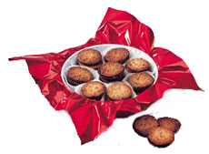 Florentine Lace Gift Tin - 1 lb, approximately 28 pieces