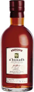 Aberlour Abunadh, Single Malt Scotch Whisky (Scotland) 750ml