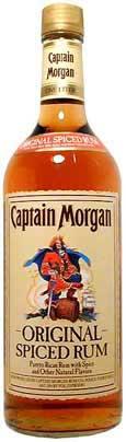 Captain Morgan Spiced Rum (Puerto Rico USA) 750ml