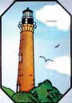 Currituck Beach Lighthouse - Stained Glass