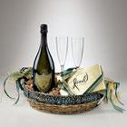 A Romantic Valentine Dom Perignon Gift Basket