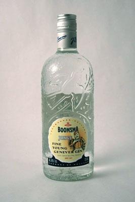 Boomsma Jonge, Fine Young Genever, 80° Holland 90 W.E. Gin 750 ml.