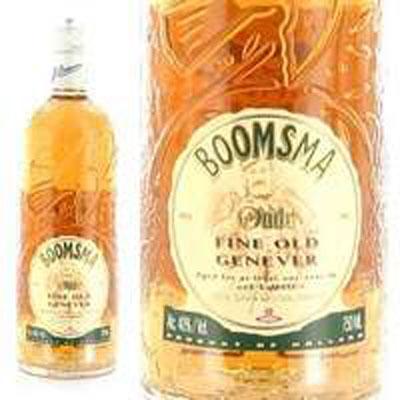 Boomsma Oude, Fine Old Genever, 80° Holland 92 W.E. Gin 750 ml.