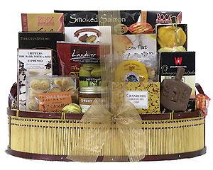 Large Hanukkah Gift Basket