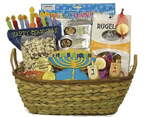 Childrens Hanukkah Basket