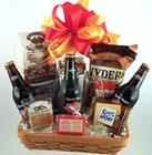 St. Patricks Beer Gift Basket