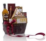 St. Patrick Special Irish Whiskey Gift Basket