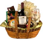 St. Patricks Day Celebration Gift Basket