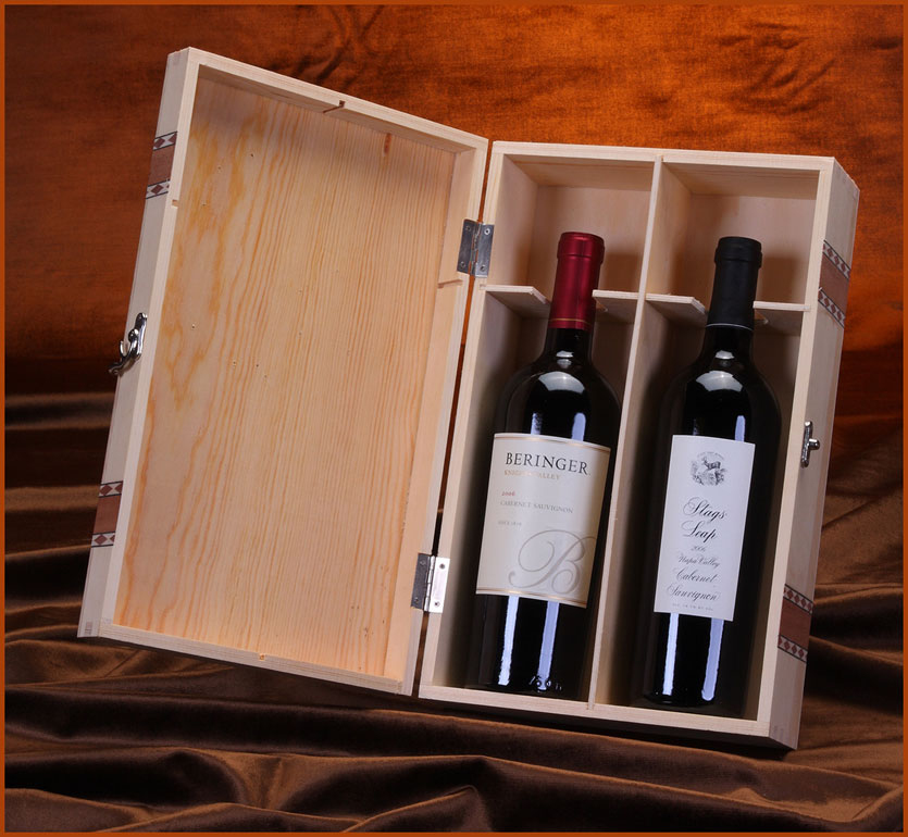 Cabernet Wood Gift Box