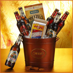 Beer N Cheer Gift Bucket