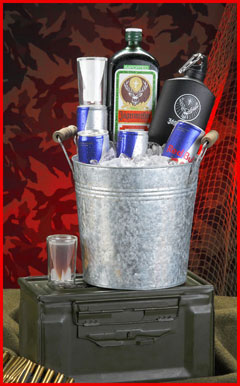 The Jager Bomb Gift Basket