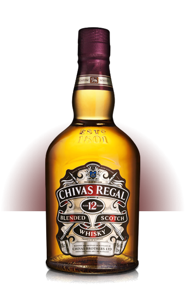 Chivas Regal Scotch 12 Yr, 200 ml