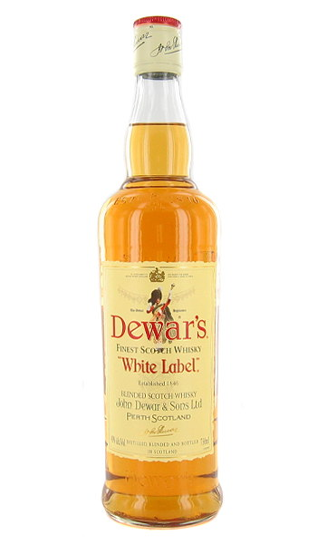 Dewars Blended Scotch Whiskey, White label, Magnum