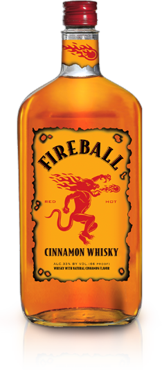 Fireball Cinnamon Whiskey, 750 ml