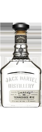 Jack Daniels Unaged Rye, 750ml