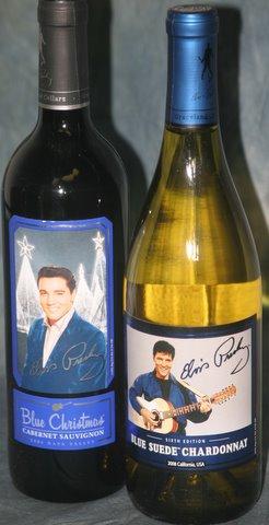 Elvis Presley Wine - 2 Bottles Combo