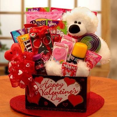 Youre Beary Huggable Kids Valentine Gift Box