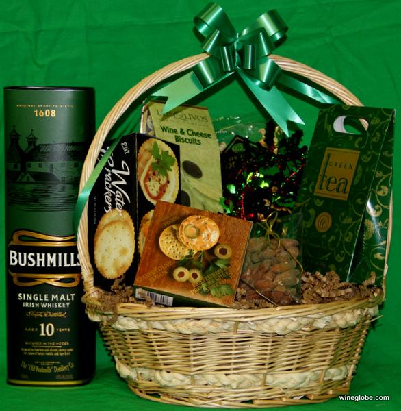 The Bushmill Irish Whisky Gift Basket