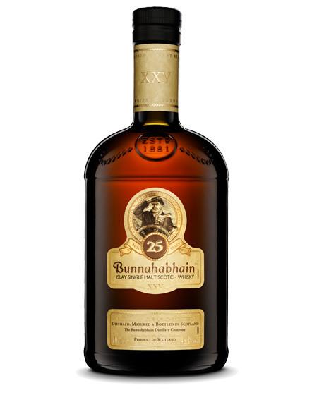 BUNNAHABHAIN 25 YR Single Malt Scotch 750ml