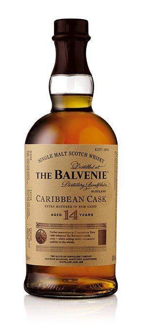 Balvenie Single Malt, Caribbean Cask, Aged 14 Years, Single Malt Scotch Whisky