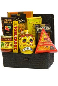 Day of the Dead Tequila Gift Basket