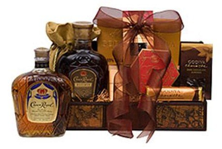 Crown Royal Reserve Whiskey Gift Basket