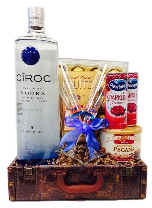 Ciroc Vodka Gift Basket