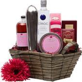 Ciroc Cosmo Vodka Gift Basket