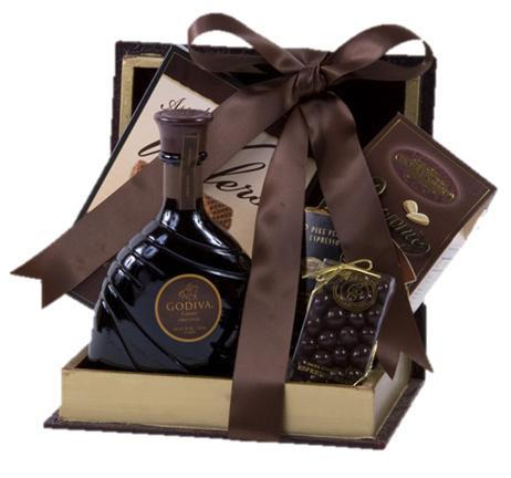 Godiva Chocolate Liqueur Decadant Gift Basket
