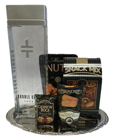 Double Cross Vodka Gift Basket