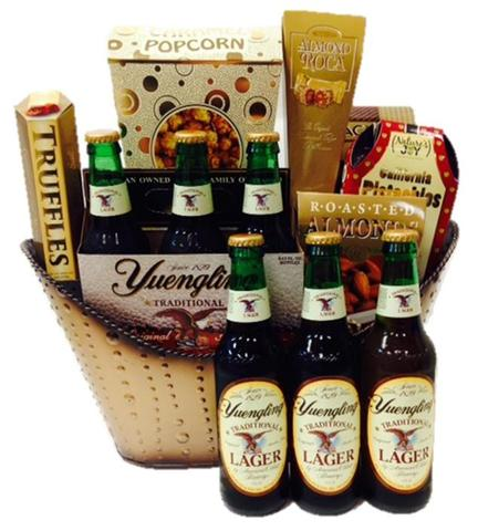 Yuengling Lager Beer Gift Basket