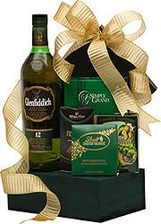 Glenfiddich to the Finish Scotch Gift Basket