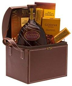Godiva Liqueur Gift Basket