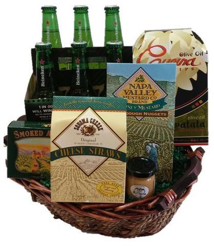 Heineken Beer Gift Basket