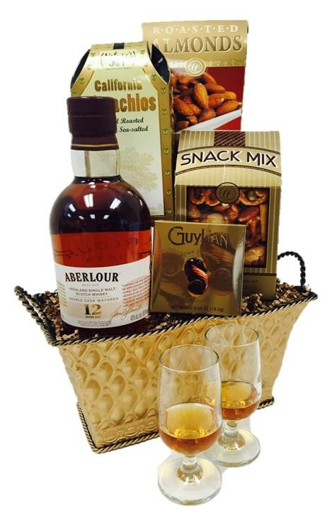 Aberlour 12 Scotch Gift Basket