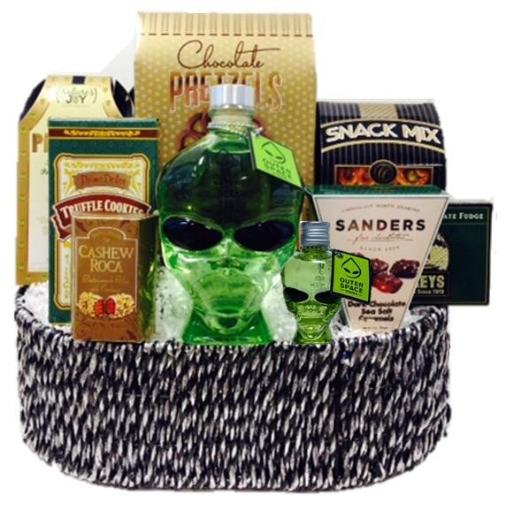 Outer Space Vodka Gift Basket
