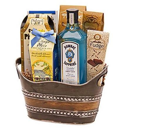 Bombay Sapphire Gin Gift Basket