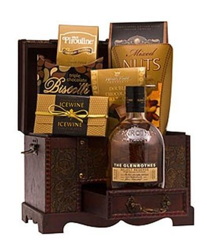 Glenrothes Reserve Scotch Whiskey Gift Basket