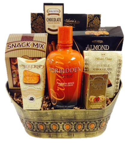 Forbidden Secret Pumpkin Spice Basket