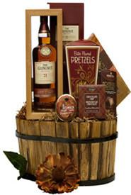 Glenlivet 21 Scotch Luxury Basket