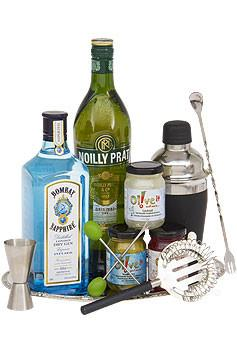 Bombay Sapphire Gintini Gin Gift Basket