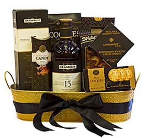 Drambuie 15 Liqueur Gift Basket