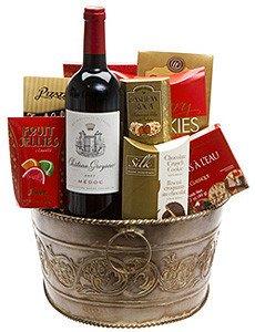 Chateau Greysac Wine Gift Basket