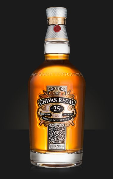 Chivas Regal Aged 25 Years, Blended Scotch Whisky